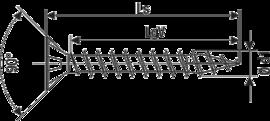 SPAX А2 потай полная резьба Pz