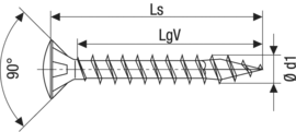 SPAX А2 линзовидная головка  Tx