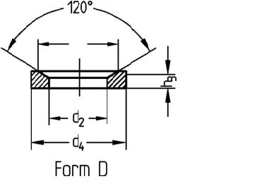 DIN 6319 Form D