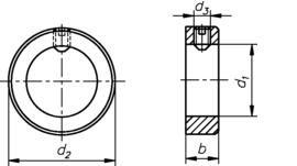 DIN 705 А нержавеющая сталь А2