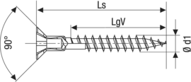 SPAX потайная спец. головка