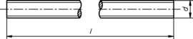 DIN 976 4.6 1m