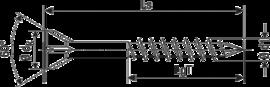 SPAX потайная головка с зенкующими кромками