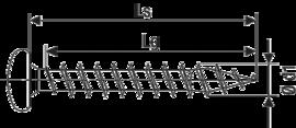 SPAX полукруглая головка Pz