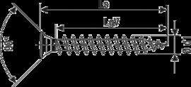 SPAX уменьшенная линз. головка  Pz